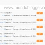 nova interface do blogger