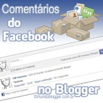 sistema de comentarios do Facebook no Blogger